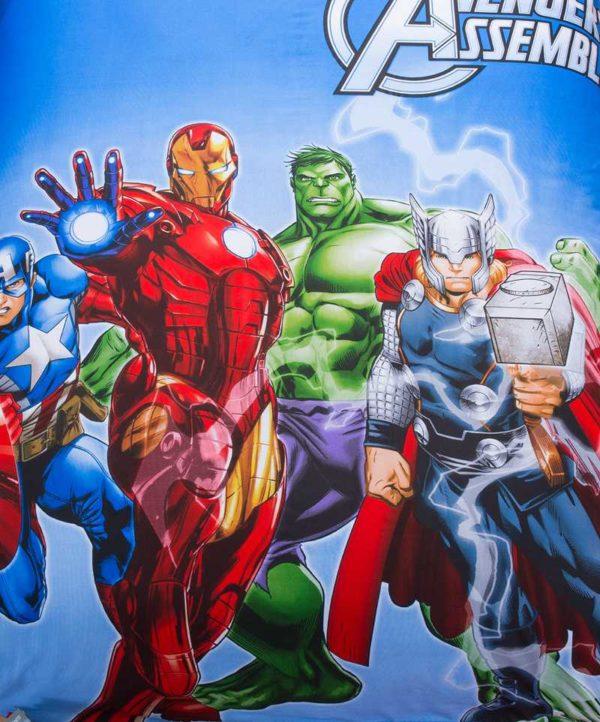 Marvel Avengers Kids Cartoon Bedding Set 3