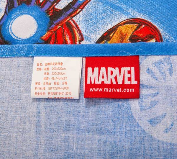Marvel Avengers Kids Cartoon Bedding Set 7 600x539 - Marvel Avengers Kids Cartoon Bedding Set
