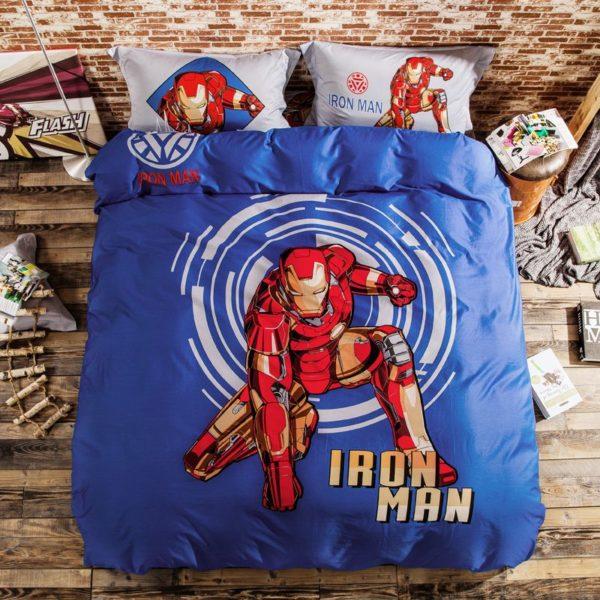 Marvel Iron Man 3 Comic Bedding Set (1)