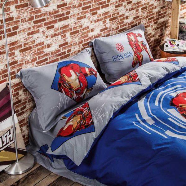 Marvel Iron Man 3 Comic Bedding Set