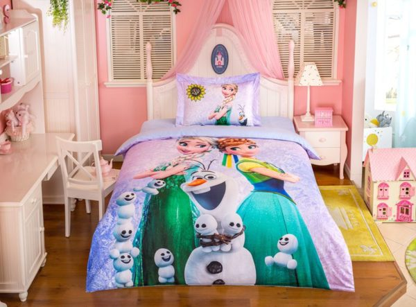 Marvellous Frozen Movie Themed Bedding Set 1