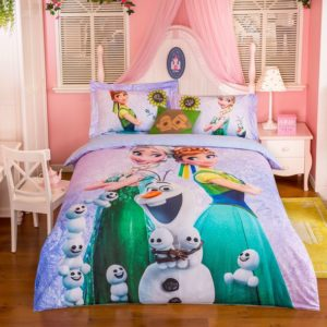 Marvelous Frozen Movie Themed Bedding Set (2)