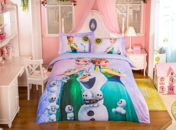 Marvellous Frozen Movie Themed Bedding Set 3