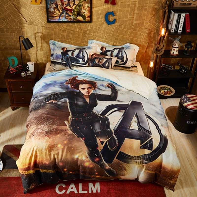 Marvel Avengers Black Widow Bedding Set Ebeddingsets