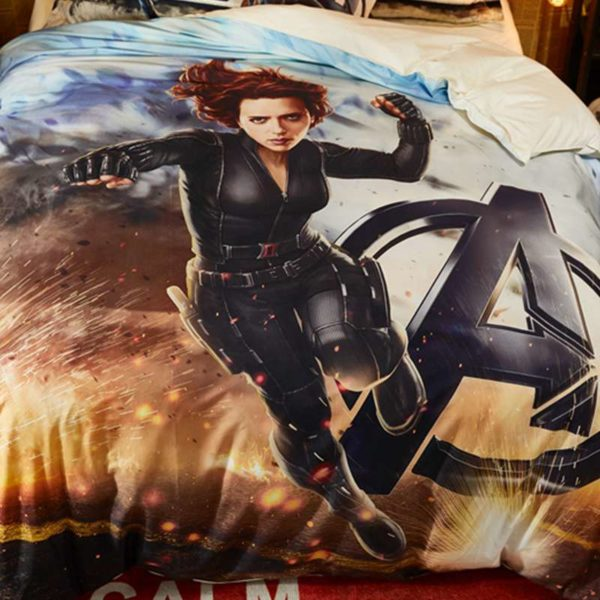 Maverl Avengers Black Widow Bedding Set 2