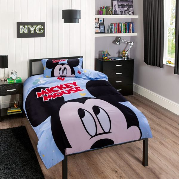 Mickey Mouse Birthday Gift For Boys Bedding Set 3 600x600 - Mickey Mouse Birthday Gift For Boys Bedding Set