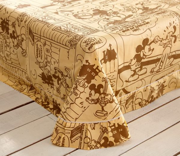Mickey Mouse Brown Bedding Set 2 600x521 - Mickey Mouse Brown Bedding Set