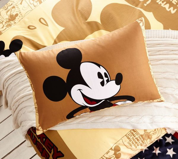 Mickey Mouse Brown Bedding Set 5 600x535 - Mickey Mouse Brown Bedding Set