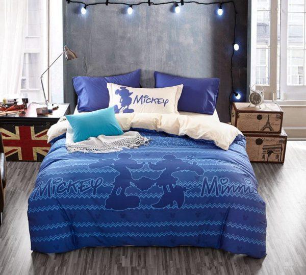 Mickey Mouse Chevron Navy Color Bedding Set 11 600x539 - Mickey Mouse Chevron Navy Color Bedding Set