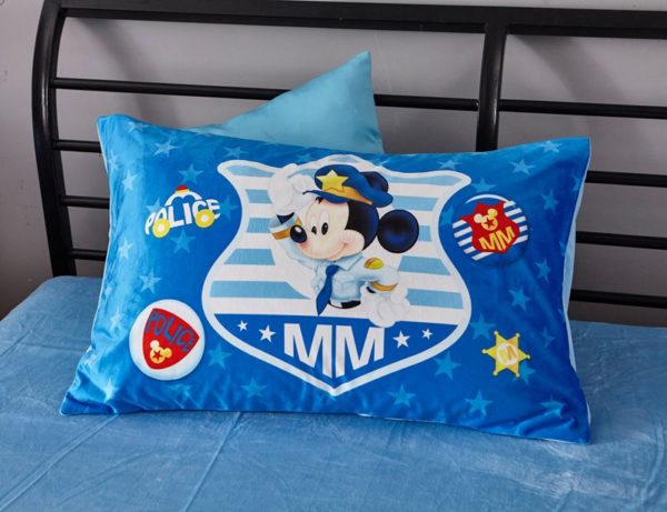 Mickey Mouse Police Kids Comforter Set 9 600x461 - Mickey Mouse Police Kids Comforter Set