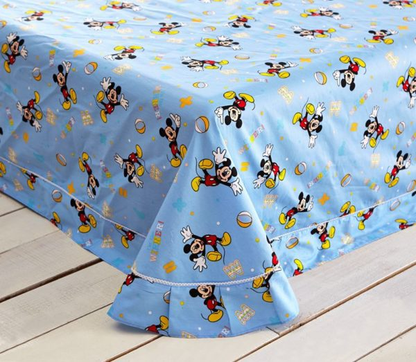 Mickey Mouse and Pluto the Pup Bedding Set 7 600x523 - Mickey Mouse and Pluto the Pup Bedding Set