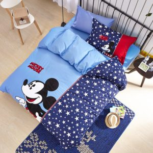 Mickey Mouse boys queen size bedding set 3 300x300 - Mickey Mouse Boys Queen Size Embroidery Bedding Set