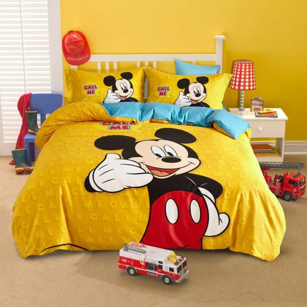 Mickey Mouse cool teen bedding Set 1 600x600 - Mickey Mouse Cool Teen Bedding Set