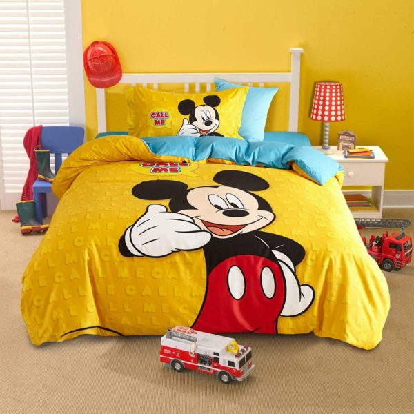 Mickey Mouse cool teen bedding Set 2 600x600 - Mickey Mouse Cool Teen Bedding Set