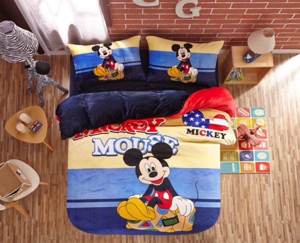 Mickey Mouse kids bedding sets for boys 9