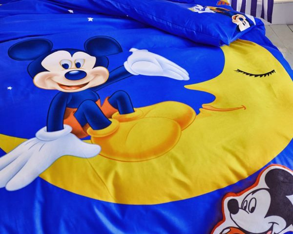 Mickey and Minnie Polyester Bedding Set 3