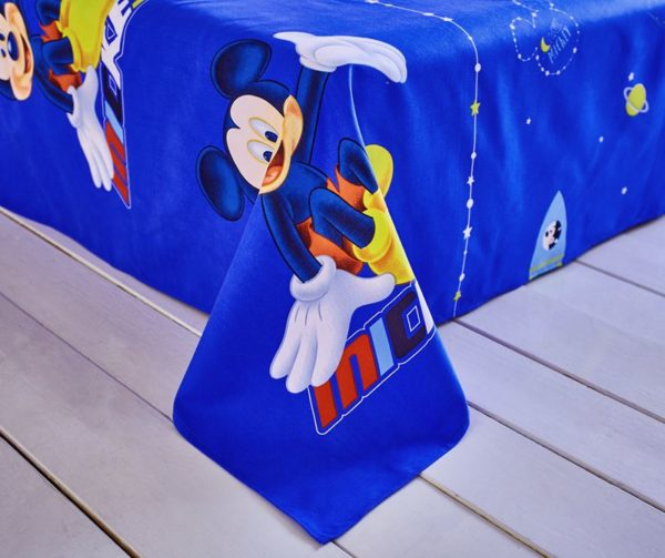 Mickey and Minnie Polyester Bedding Set 7