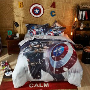 Mind blowing Captain America Comforter Set