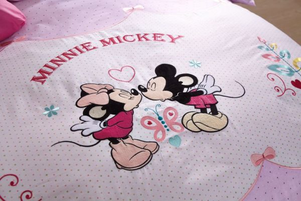 Minnie Mickey Disney Comforter Set For Teens 2