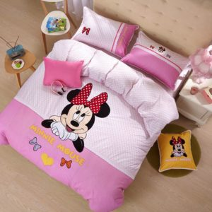 Minnie Mouse Girls Queen twin size bedding set 1 300x300 - Minnie Mouse Girls Queen Twin Size Embroidery Bedding Set