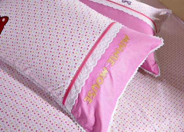 Minnie Mouse Girls Queen twin size bedding set 7 600x431 - Minnie Mouse Girls Queen Twin Size Embroidery Bedding Set