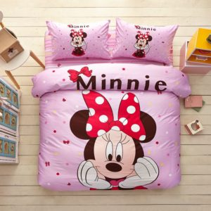 Minnie Mouse Pink Bedding Set Twin Queen Size 1 300x300 - Minnie Mouse Pink Bedding Set Twin Queen Size
