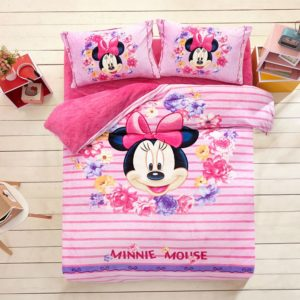 Minnie Mouse Pink kids bedding sets for girls
