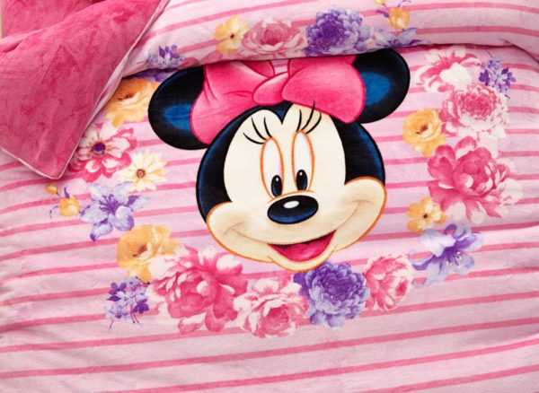 Minnie Mouse Pink kids bedding sets for girls 3 600x438 - Minnie Mouse Pink kids bedding sets for girls