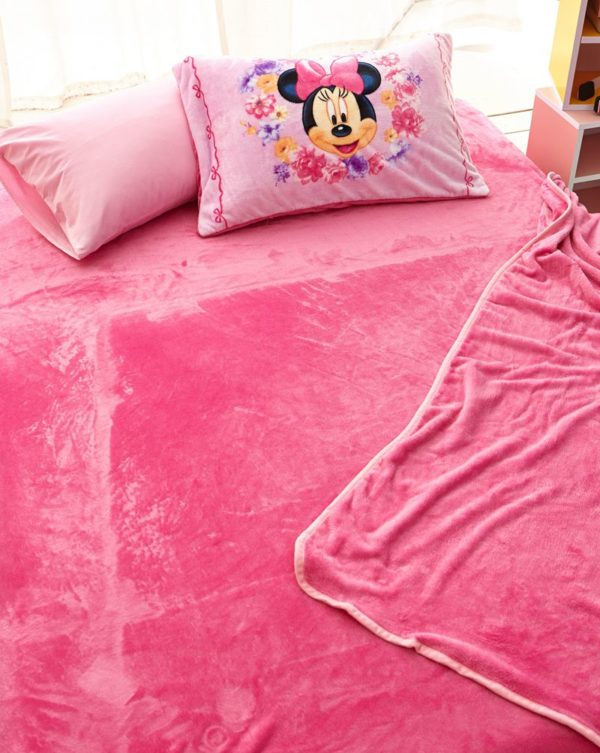 Minnie Mouse Pink kids bedding sets for girls 7 600x753 - Minnie Mouse Pink kids bedding sets for girls