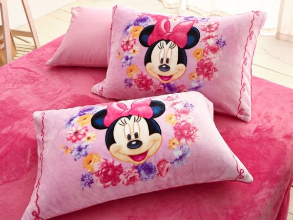 Minnie Mouse Pink kids bedding sets for girls 8 600x451 - Minnie Mouse Pink kids bedding sets for girls