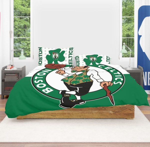 NBA Boston Celtics Bedding Comforter Set 4 600x588 - NBA Boston Celtics Bedding Comforter Set