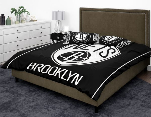 NBA Brooklyn Nets Bedding Comforter Set