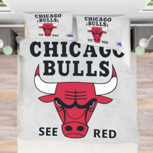 NBA Chicago Bulls Bedding Comforter Set Bedroom