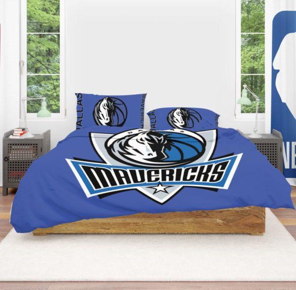 NBA Dallas Mavericks Bedding Comforter Set 4