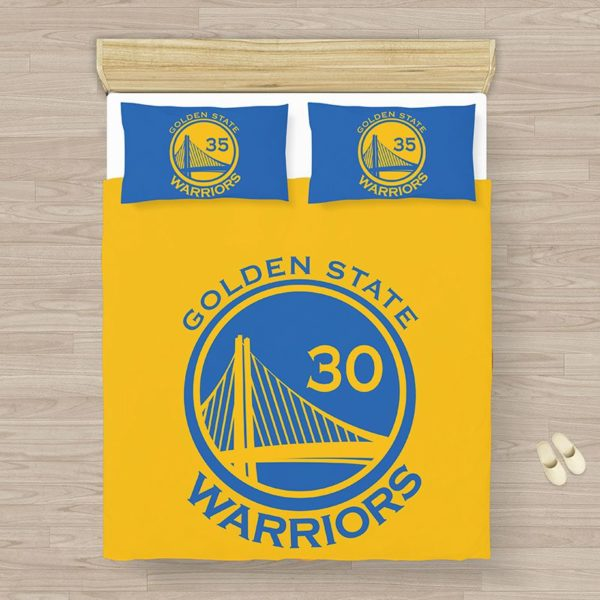 NBA Golden State Warriors Bedding Comforter Set (1)