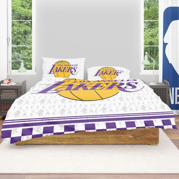 NBA Los Angeles Lakers Bedding Comforter Set 2