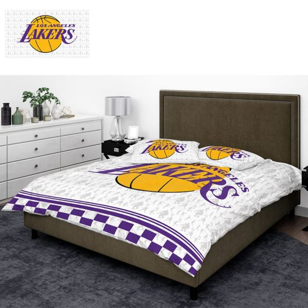 NBA Los Angeles Lakers Bedding Comforter Set 3
