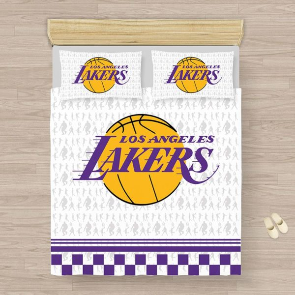 NBA Los Angeles Lakers Bedding Comforter Set 5