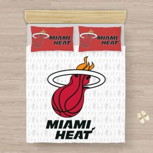 NBA Miami Heat Bedding Comforter Set (1)