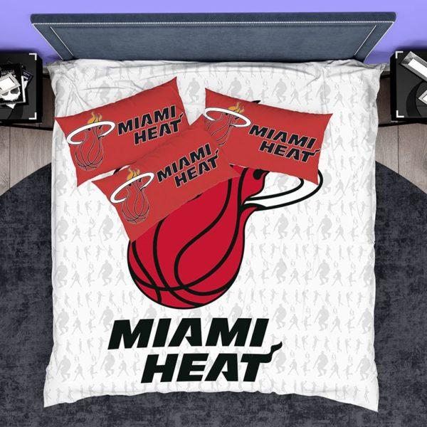 NBA Miami Heat Bedding Comforter Set 3 600x600 - NBA Miami Heat Bedding Comforter Set