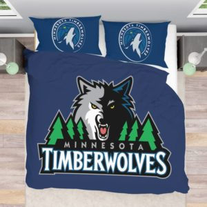 NBA Minnesota Timberwolves Bedding Comforter Set