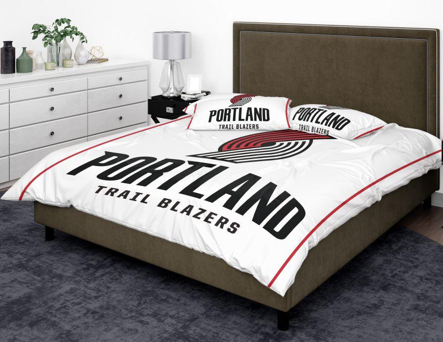 Nba New Portland Trail Blazers Bedding Comforter Set Up