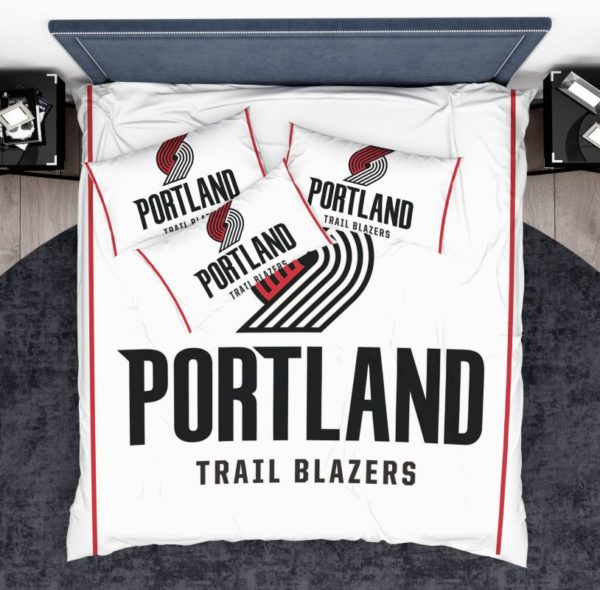 NBA New Portland Trail Blazers Bedding Comforter Set