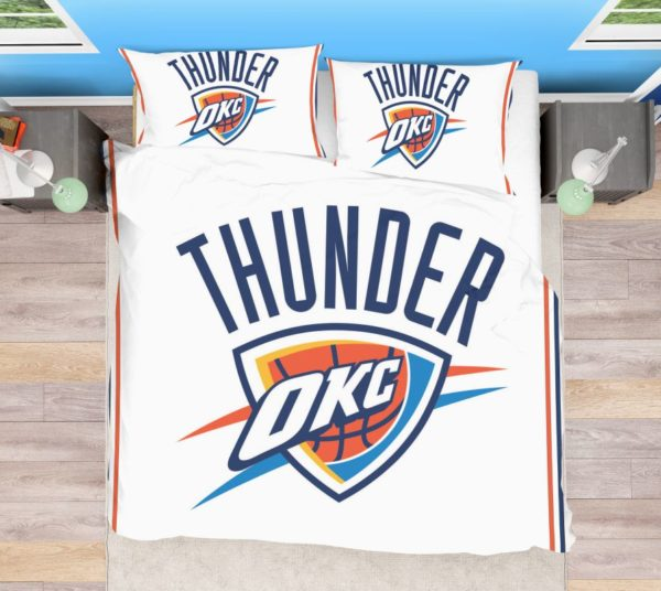 NBA Oklahoma City Thunder Bedding Comforter Set