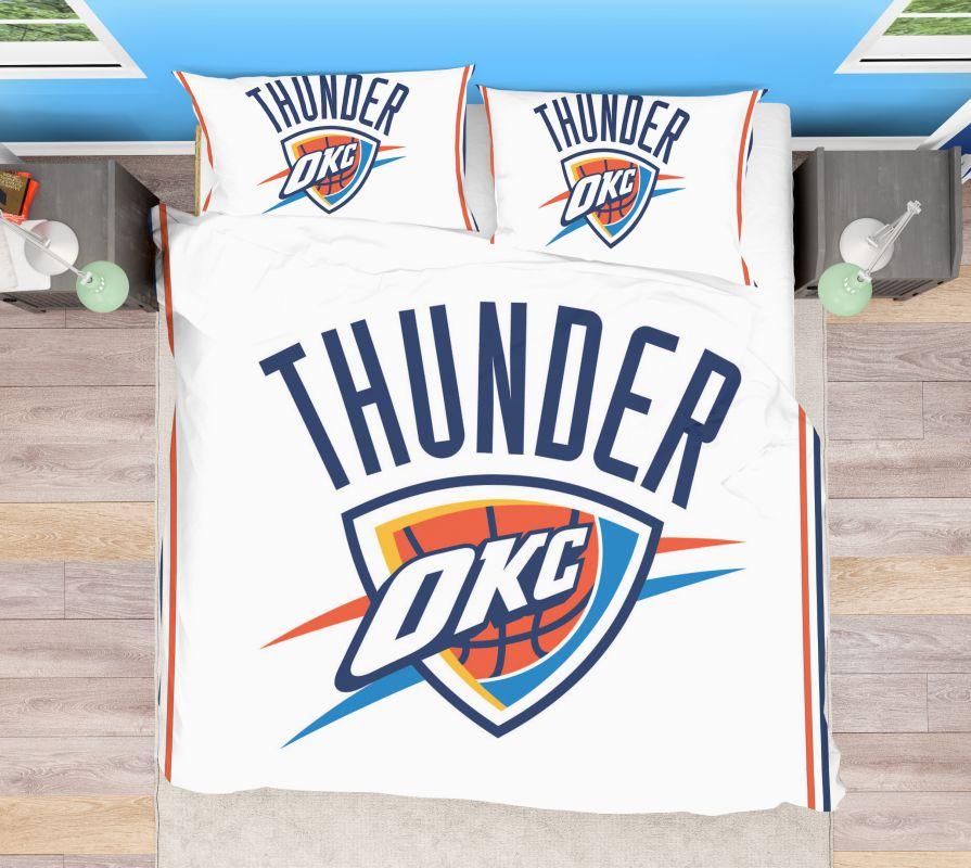 Buy NBA Oklahoma City Thunder Bedding Comforter Set | Up ...