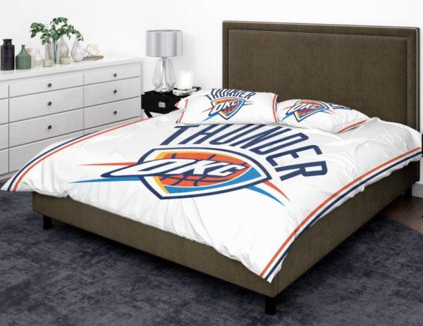 NBA Oklahoma City Thunder Bedding Comforter Set 2 600x463 - NBA Oklahoma City Thunder Bedding Comforter Set