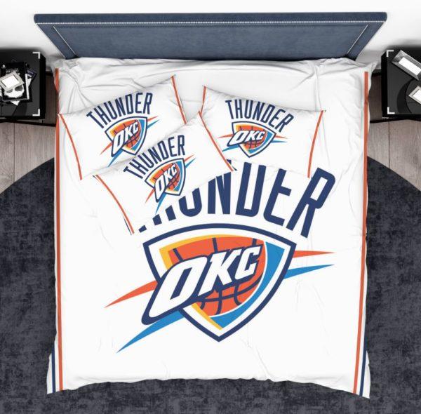 NBA Oklahoma City Thunder Bedding Comforter Set 3 600x590 - NBA Oklahoma City Thunder Bedding Comforter Set