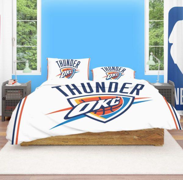 NBA Oklahoma City Thunder Bedding Comforter Set 4 600x588 - NBA Oklahoma City Thunder Bedding Comforter Set