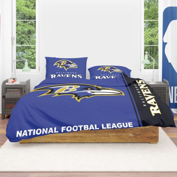 NFL Baltimore Ravens Bedding Comforter Set