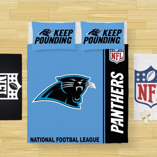 NFL Carolina Panthers Bedding Comforter Set